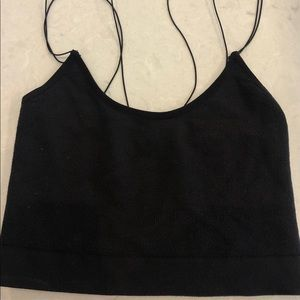 out from under urban outfitters cropped tank